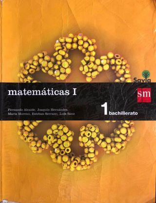 Libro matemáticas, 1º Bachillerato