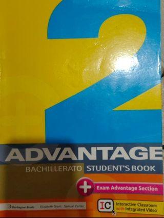 Libro 2 Advantage Bachillerato Student's Book