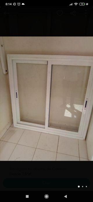 ventana aluminio sin persiana