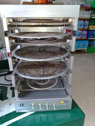 horno para 4 pizzas