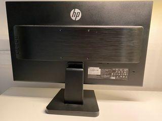 Monitor HP 24 webcam, teclado mouse logitech