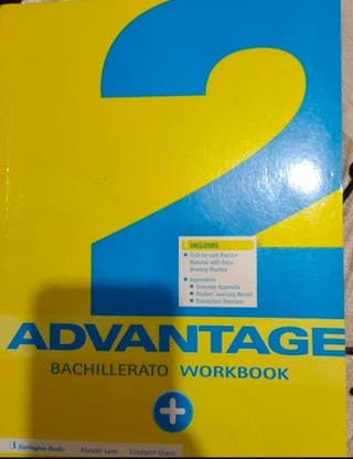 Libro 2 Advantage Bachillerato Workbook