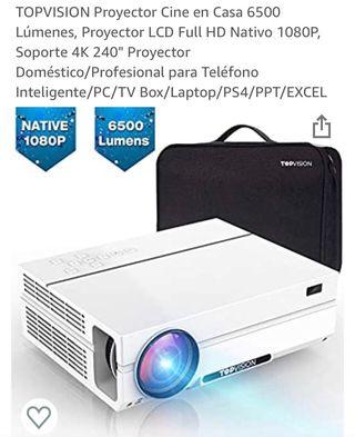 Proyector Nuevo 6500L 1080 NATIVO + Maletín