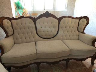 Sofa y dos sillones individuales