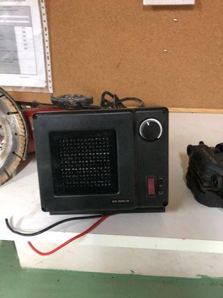 Calefactor para camión o caravana de 12 y 24 volti
