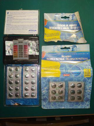 Medidor acidez y cloro piscina