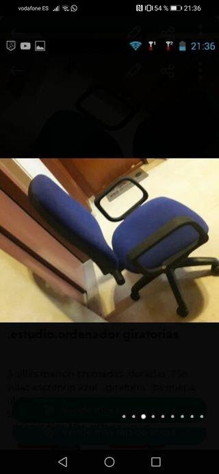 silla escritorio giratoria
