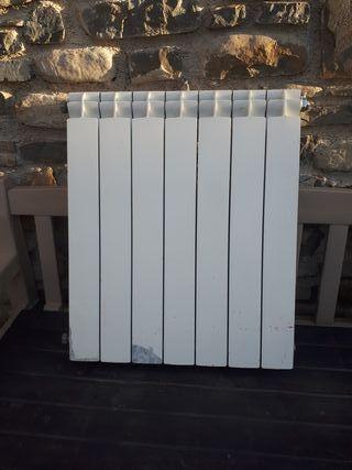Radiador de aluminio para calefacción
