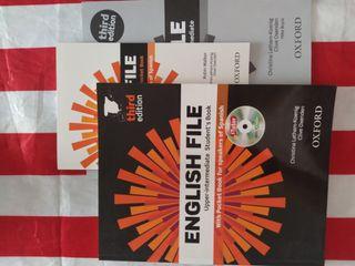 English file upper-intermediate books