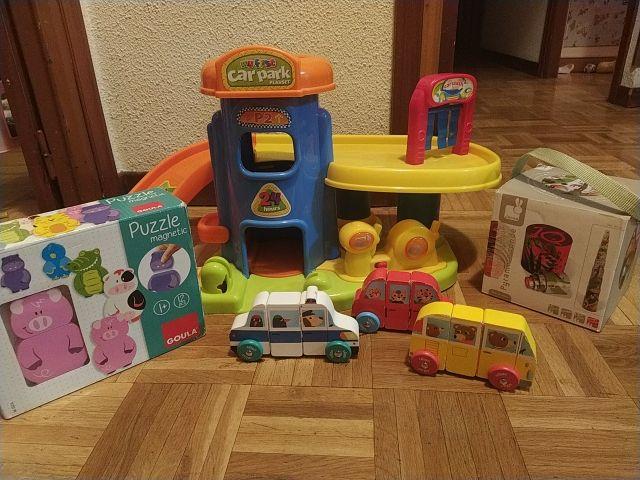 lote juguetes + 1 año