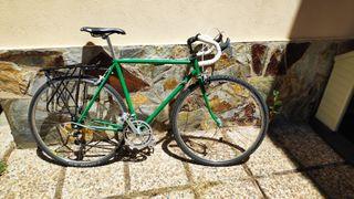 bicicleta retro carretera gravel