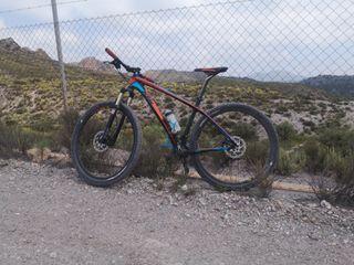 bicicleta Carbono ktm mtb 29 talla L