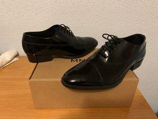 Zapatos piel Mango