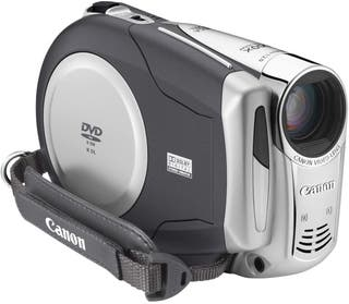 Videocámara Canon DVD 3.5'' MODELO DC201 digital
