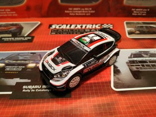 Ford Fiesta WRC Scalextric Compact 1/43