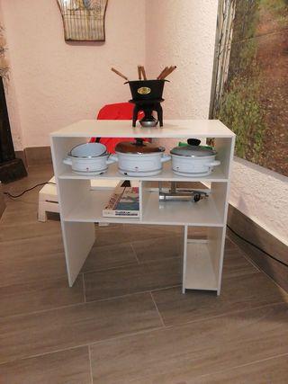 mueble auxiliar silestone