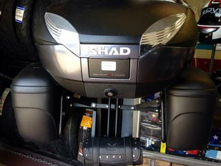 SHAD top case SH48 con respaldo