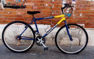 bicicleta grande de cambios