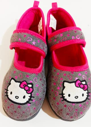 Zapatillas de casa rosa fucsia niña talla 31