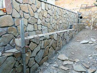 construcción en general, muros de piedra .....