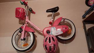 Bicicleta infantil preciosa