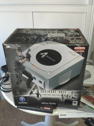 consola Game cube resident Evil 4 con caja