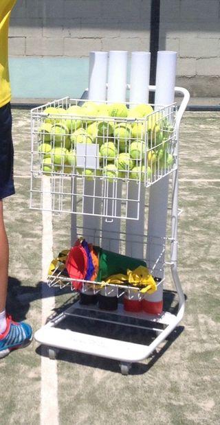 Carro de entrenador Páde y Tenis