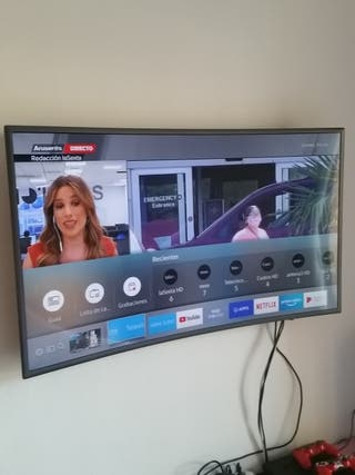 Samsung Smart tv curvo 49 pulgadas