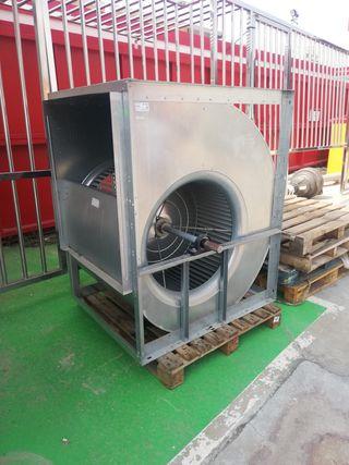 turbina - Extractor centrífugo de baja presión.