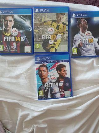 FIFA 14 17 18 19