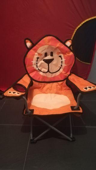 silla de camping infantil