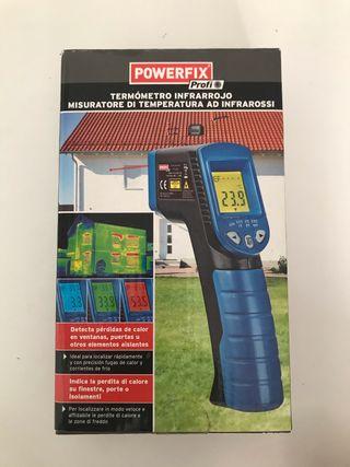 Termómetro infrarrojos powerfix