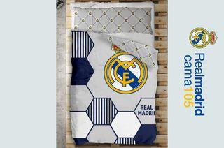 Funda nórdica 105 Real Madrid (NUEVA) Para cama