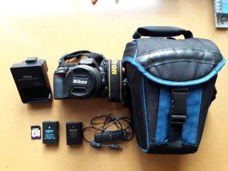 Cámara Reflex Nikon D3100 Nueva