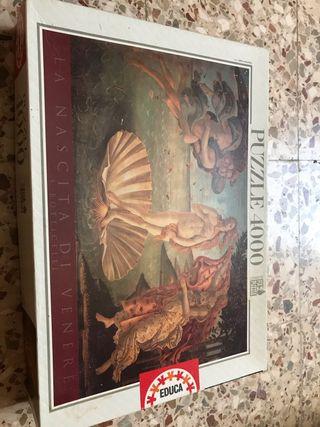 Puzzle 4000 piezas de cuadro de Botticelli