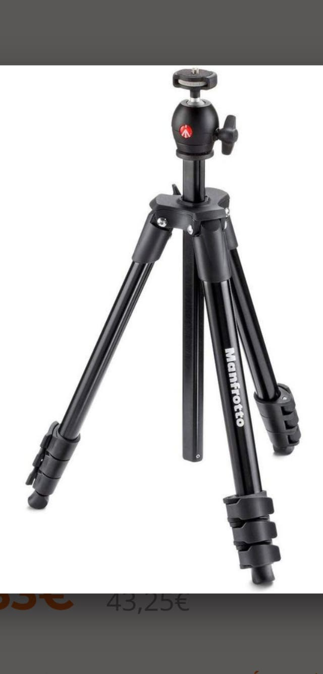 Trípode ¡¡NUEVO!! - Manfrotto Compact Light Negro