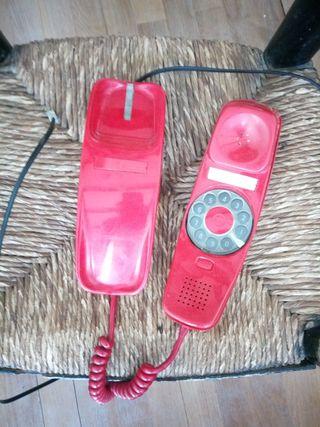 Teléfono Góndola Rojo