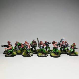 15 catachanes old school pro painted