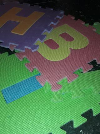 alfombra puzzle de espuma