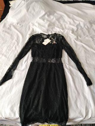 vestido encajes
