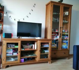 Vitrina y mueble de TV