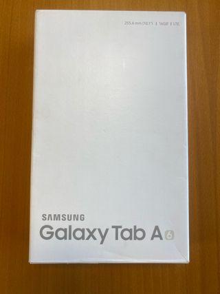 Samsung Galaxy Tab A6 tablet y teléfono