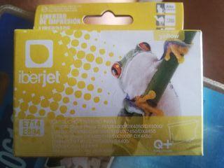 cartucho tinta Iberjet E714 (compatible Epson)