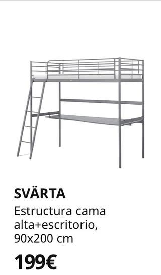 Cama escritorio IKEA