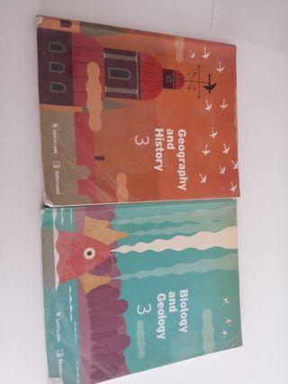 Libros 3 ESO bilingue IES Fray Pedro (Miranda)