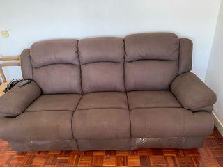 Sofa relax 3 plazas motorizado