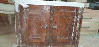 ventana antigua de movila 80 x 60