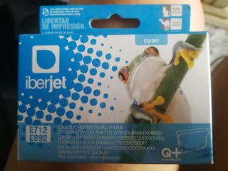 cartucho tinta iberjet E712 (compatible Epson)