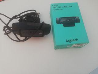 Webcam Logitech HD Pro webcam C920