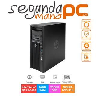 WorkStation HP Z420 - Xeon E5 - 16GB - 256GB SSD